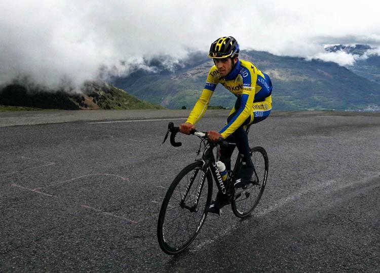 Alberto Contador Hautacam